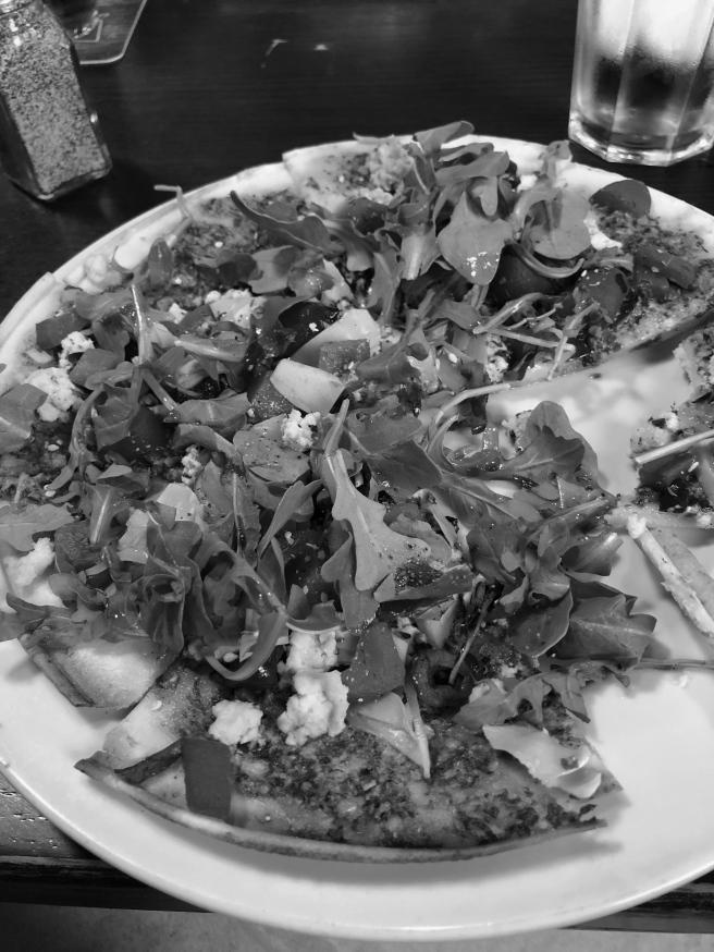 gf mediterranean pizza bw