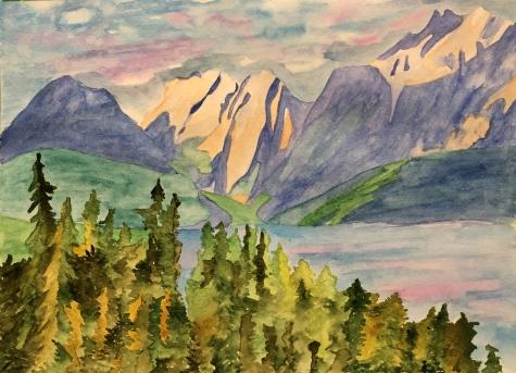 Mountains my art