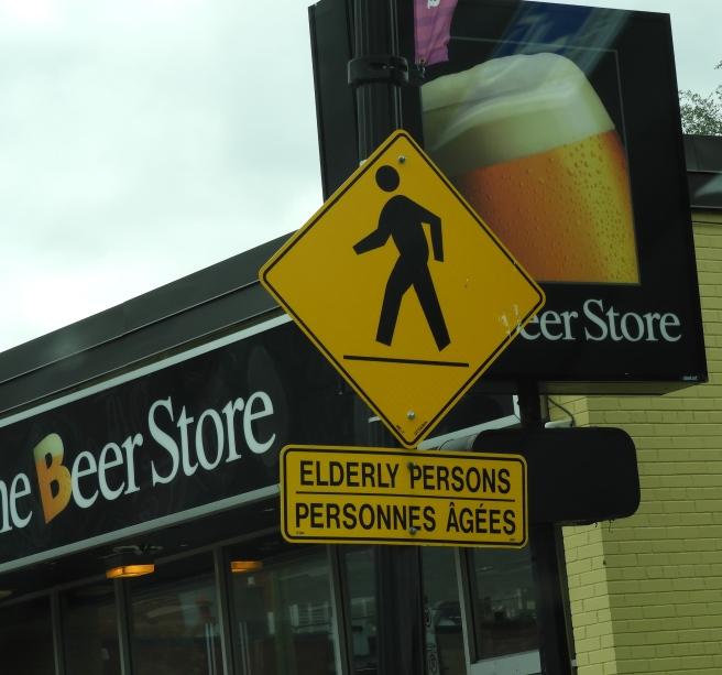 Elderly crossing